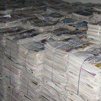 Old Newspapers Clean ONP Paper Scrap