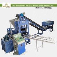 Vibro Automatic Fly Ash Brick And Block Making Machine Plant