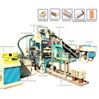 Automatic Multi Purpose Brick & Block Making Machine with Auto Stackers System