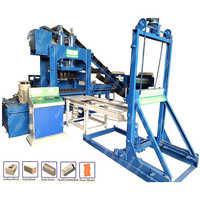 Automatic Multi Purpose Brick & Block Making Machine Plant