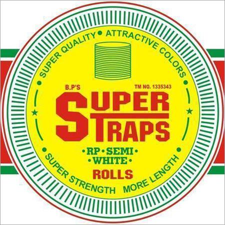 Super Straps D White Strapping Rolls