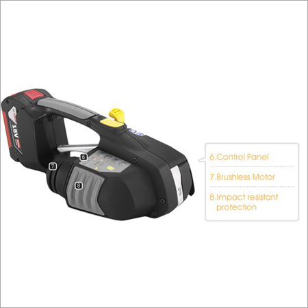 Zapak ZP93A & ZP97A Battery Powered Plastic Strapping Tool