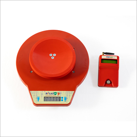 RiGas Safe Red Front view