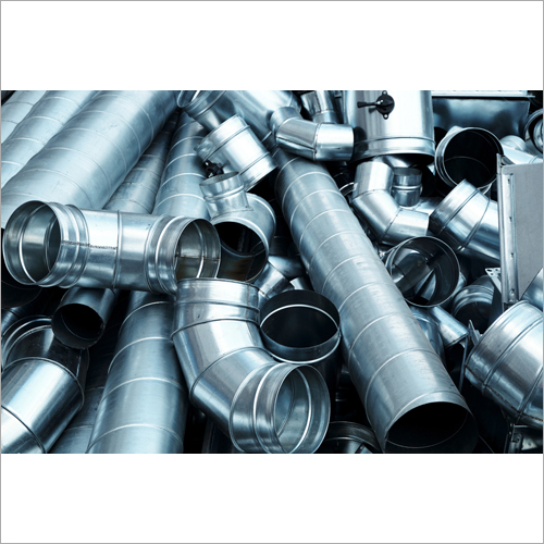 Pipes and Parts For Duct Systems Steel