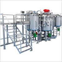 Ointment And Cream Processing Plant