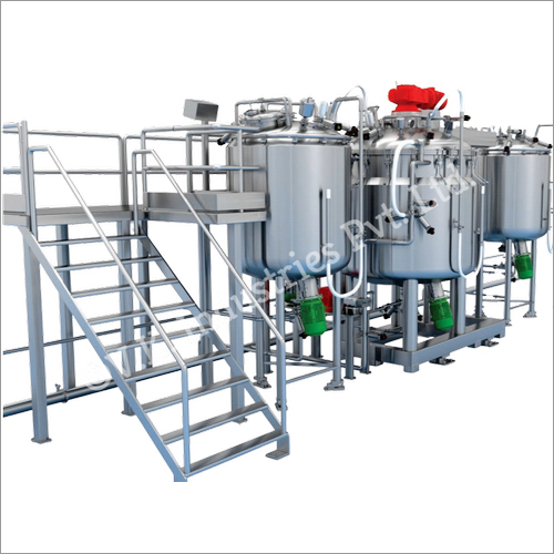 Ointment Or Cream Manufacturing Plant