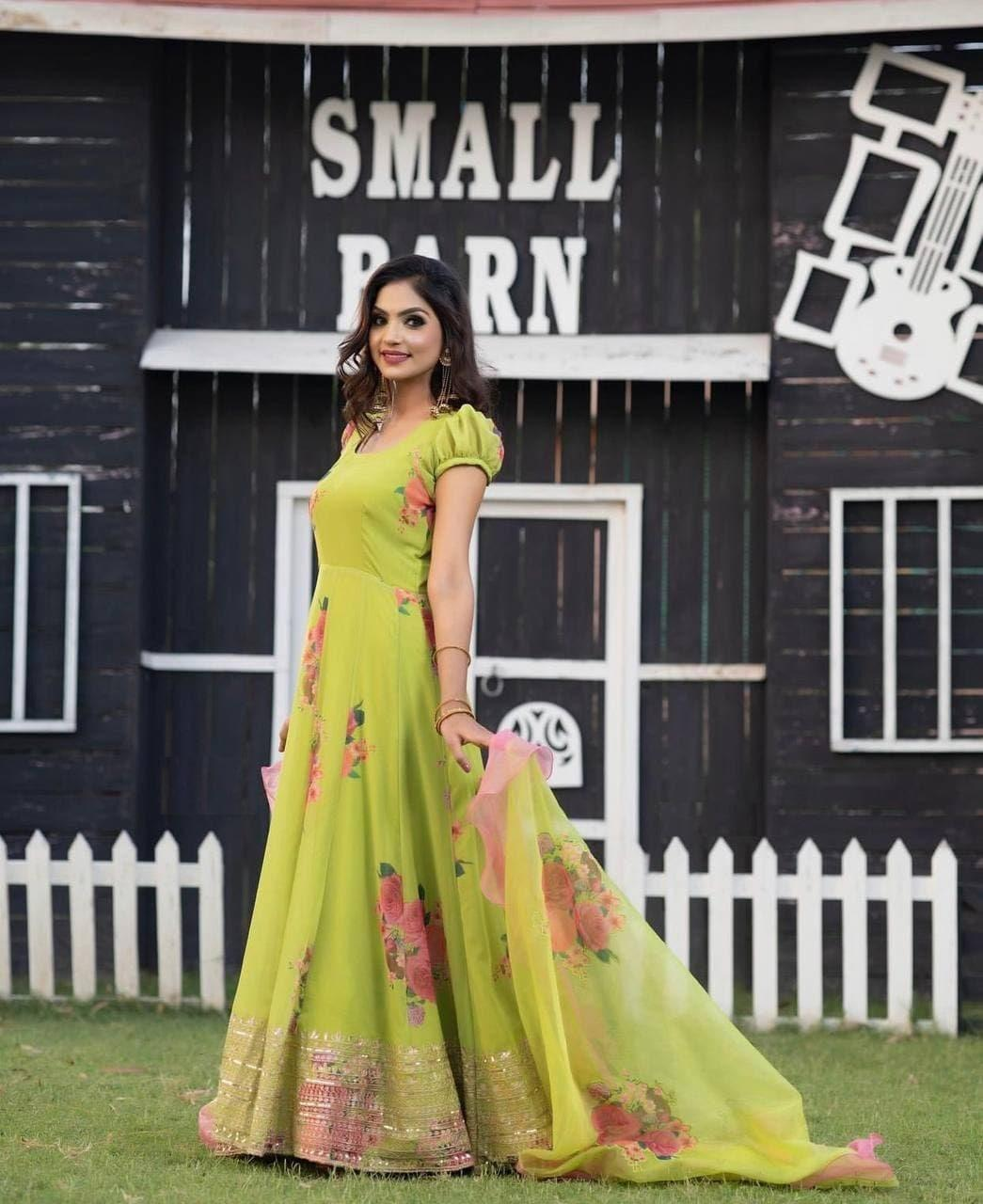PRINTED GOWN COLLECTION