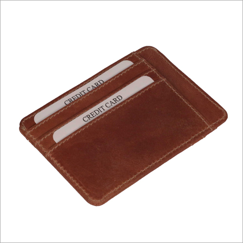 Brown Color Credit Card Holder