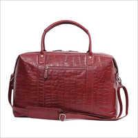 Stylish Holdall Leather Bag