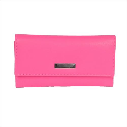 Pink Color Ladies Clutch