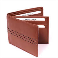 Men's Brown Color Leather Wallet