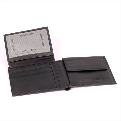 Men's Black Color Leather Wallet
