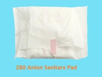 280mm Lady Anion Sanitary Napkins