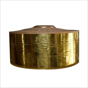 Laminated Golden Paper Roll
