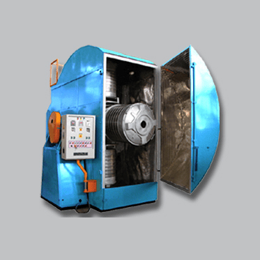 EN-2000x2SP Single Station Bi Axial Rotational Moulding Machine