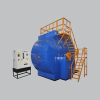 En-2500 Single Station Bi Axial Rotational Moulding Machine