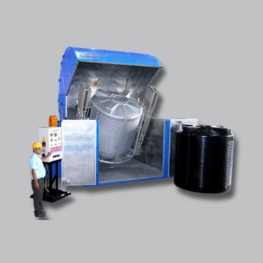 Clamshell Type Bi-axial Machine