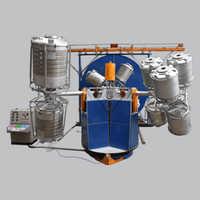 Three Arm Type Bi-Axial Machine