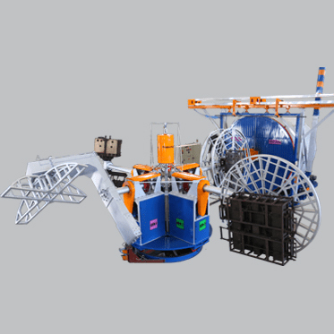 Duroline Series Bi-axial Rotational Moulding Machine