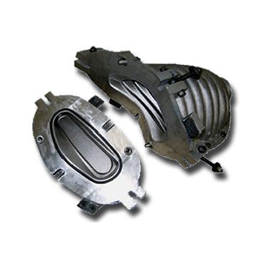 Cast Al CNC Machined Moulds