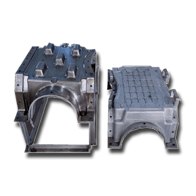 SS-MS CNC Machined Moulds