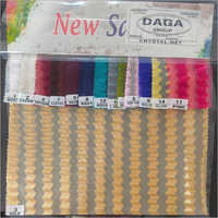 Dyed Net Curtain Fabric