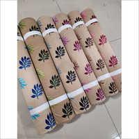 5 Mtr Warp Knitted Khadi Printed Curtain Fabric