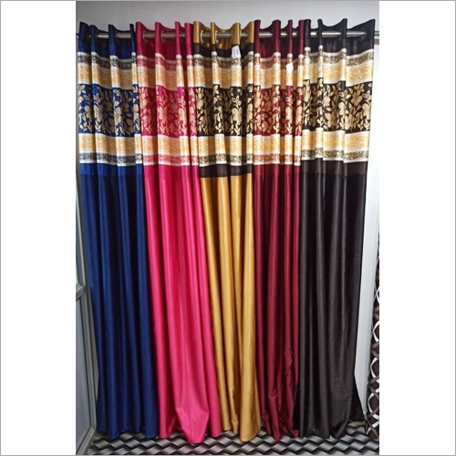 Jugnoo Ice Crush With LV Print Peach Curtain Fabric