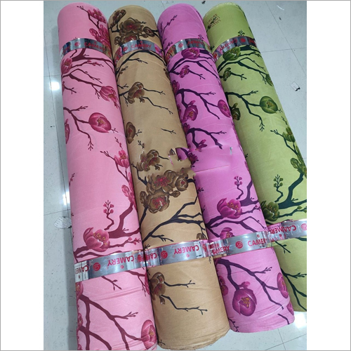 Warp Knitted Printed Curtain Fabric