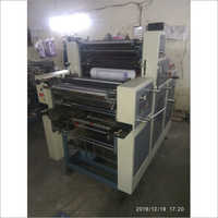 1825 Non Woven Double Color Offset Printing Machine