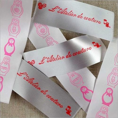 Satin Printed Ribbon