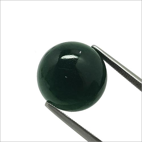 Round Cabachon Nepharite Jade Stone