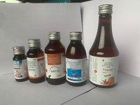 Ambroxol,Guaiphenesin,Terbutalinesulphate,Menthol Syrup