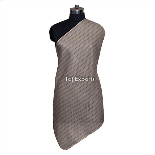 Jacquard Striped Silkwool Scarves
