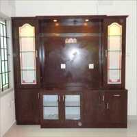TV Cabinet Wooden Hotel Interior Services