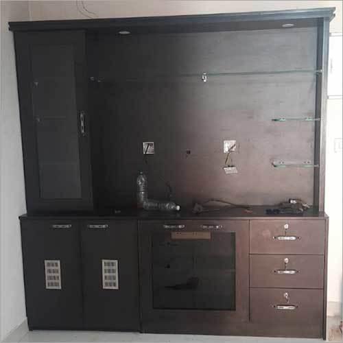 TV Wooden Cabinet Hotel Interior Services