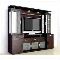 Wall Mounted TV Cabinet Hotel Interior Services