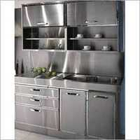 Residential Stainless Steel Kitchen