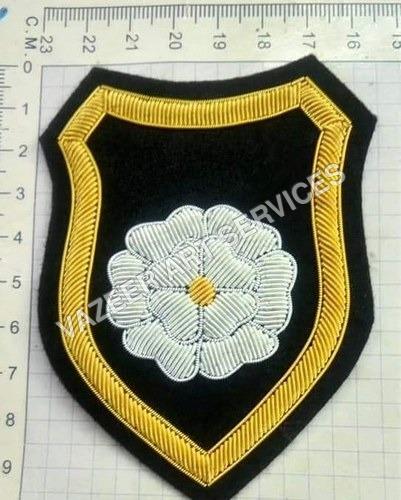Embroidered Blazer badges