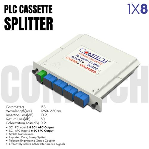 Cassette PLC Splitter 1X8 SC PC   APC