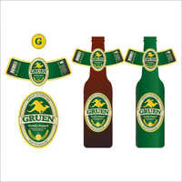 Customized Liquor Bottle Label