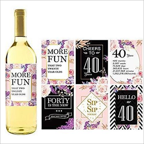 WineBottle Label