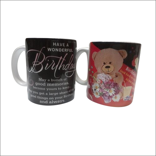 Ceramic Birthday Coffee Mug