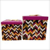 Folding Cardboard Gift Box