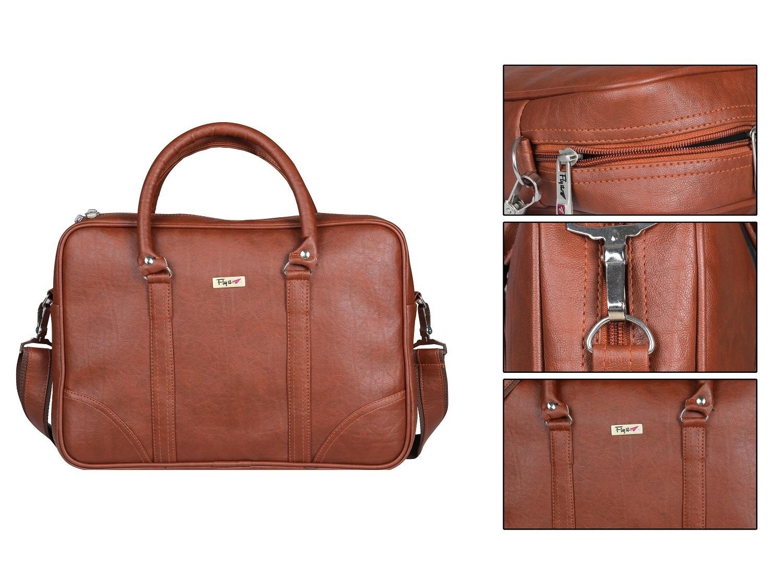 Tan Color Laptop Bag