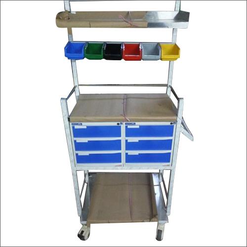 Portable Hospital Crash Cart