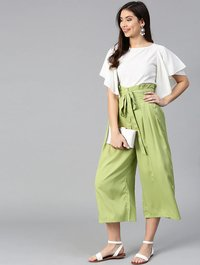 FANCY TOP-PLAZO  COLLECTION