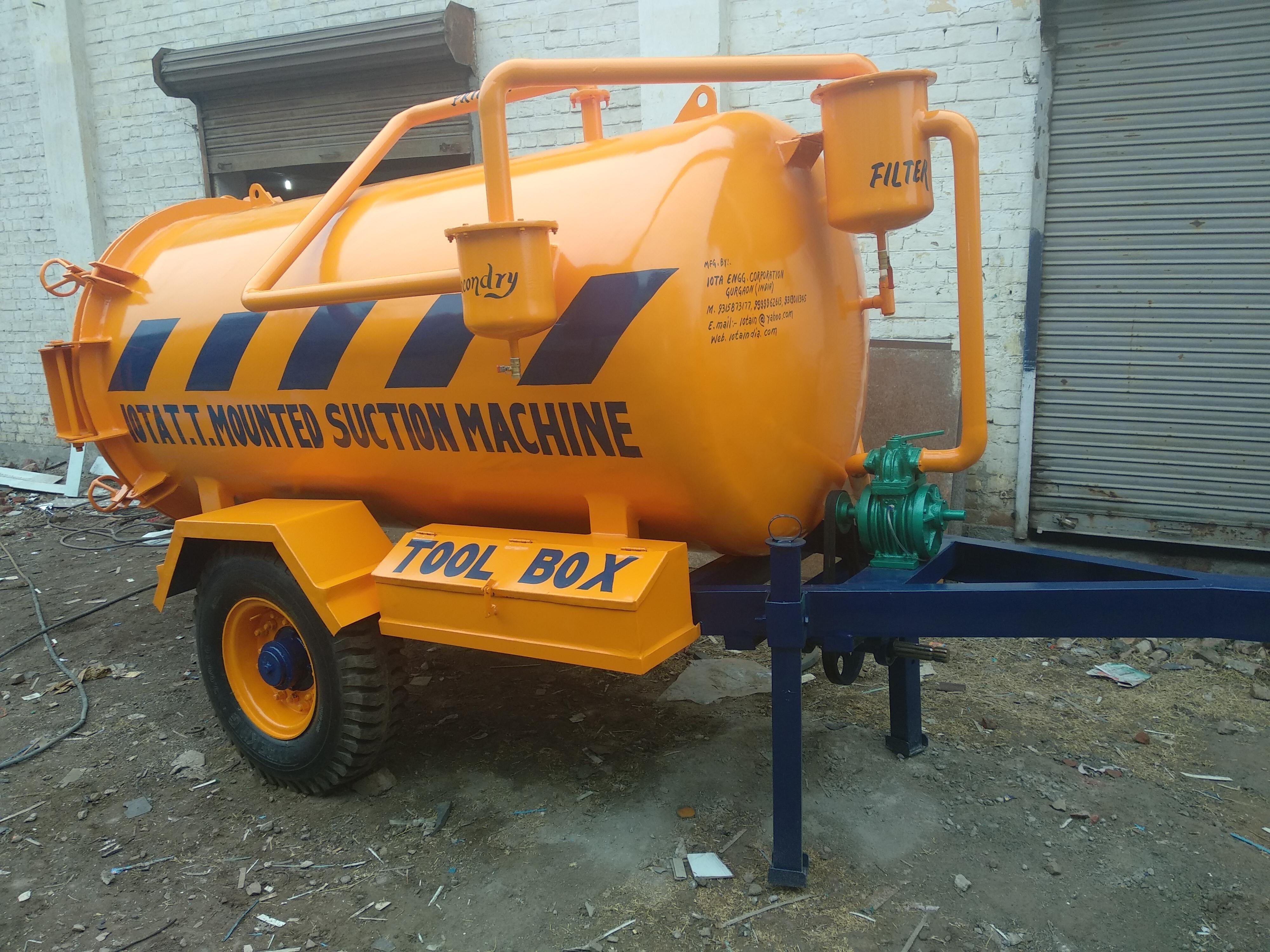 Trailer Mounted Suction Machine