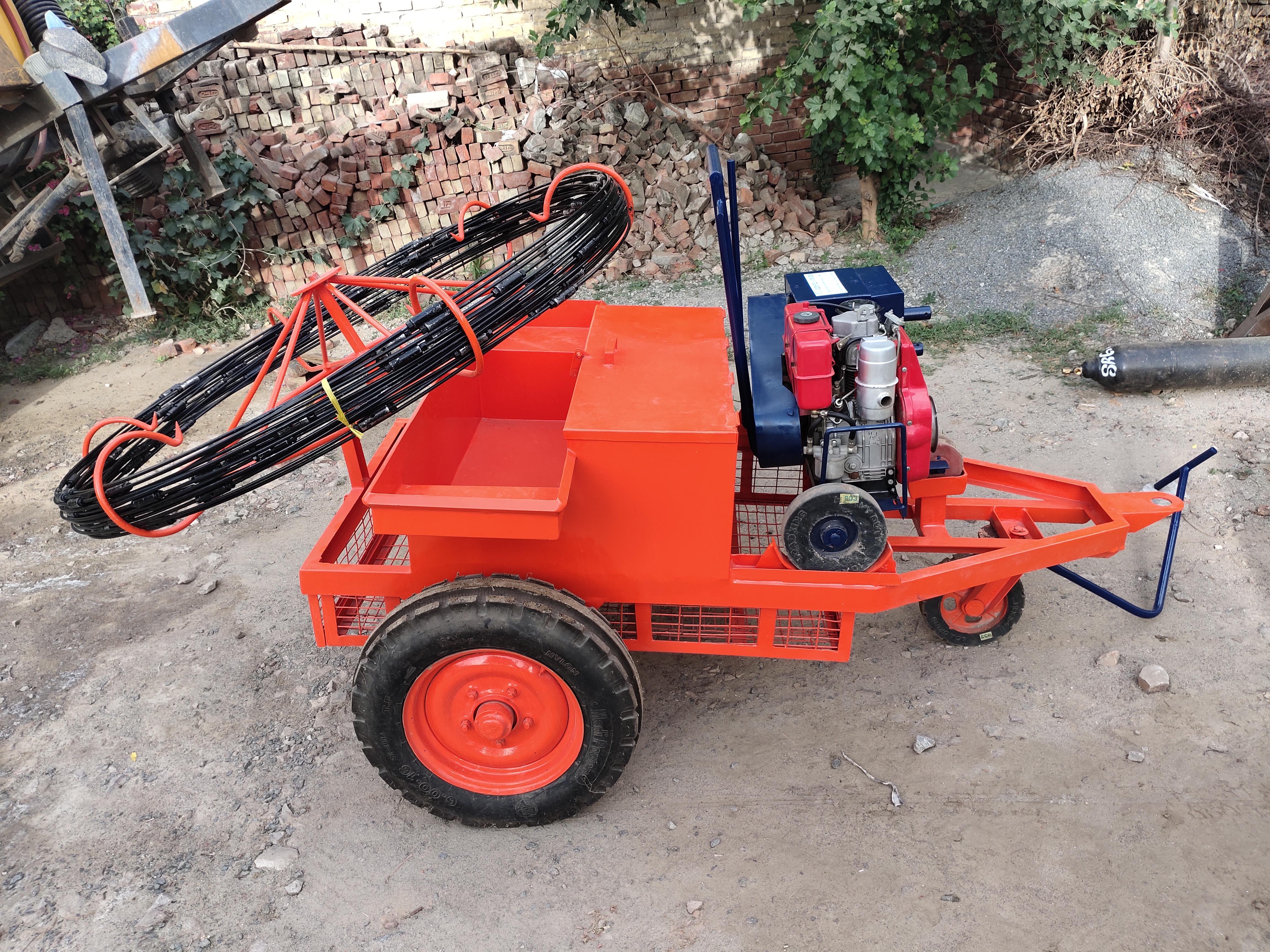 Sewer Rodding Machine