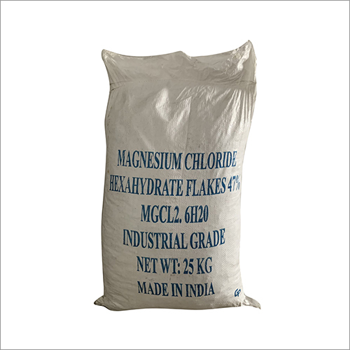 47 % Magnesium Chloride Hexahydrate Flakes